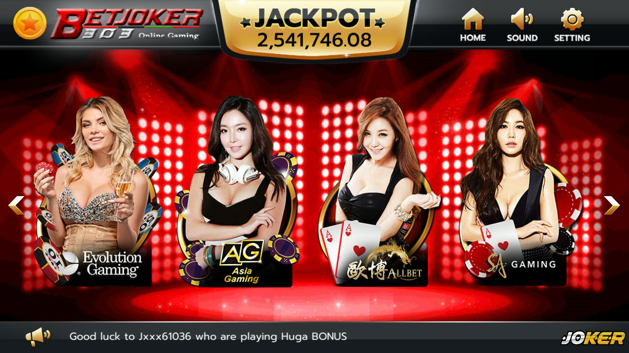 Game Judi Live Casino Joker123